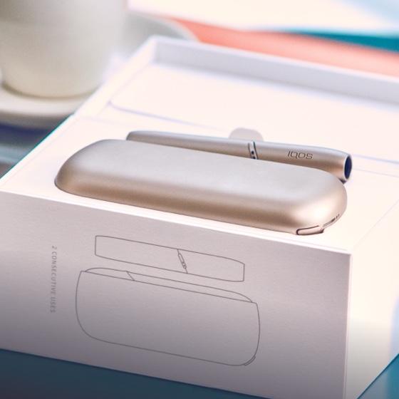 Новый IQOS 3 DUO в упаковке